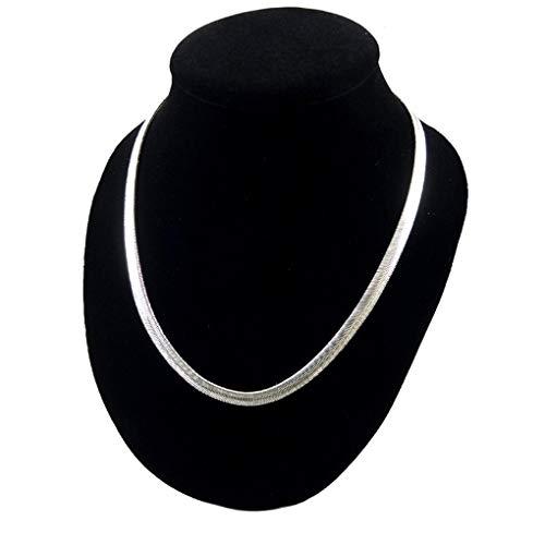 ▻▻ Collier Plat Argent Femme meilleurs avis – RABAIS – 25 %
